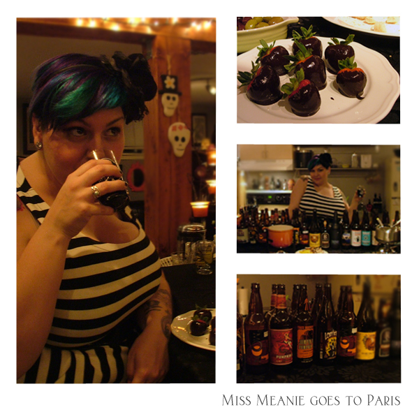 Miss Meanie loves some craft beer!