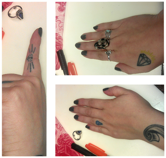 Hand & finger tattoos, are they a good idea?? // margotmeanie.com