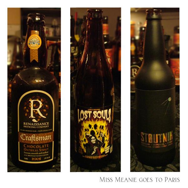 Renaissance - Chocolate Porter, Parallel 49 - Lost Souls Chocolate Pumpkin Porter, Longwood Brewery - Stoutnik, Russian Imperial Stout