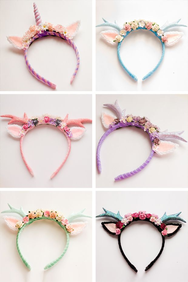 Antler Headband Collection