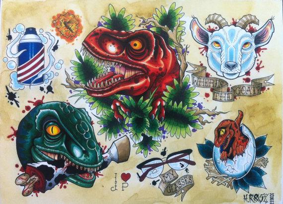 Jurassic Park by AaliyRose
