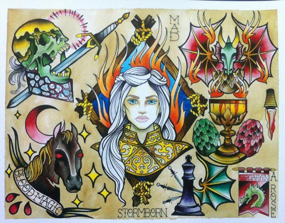 Targaryen by AaliyRose