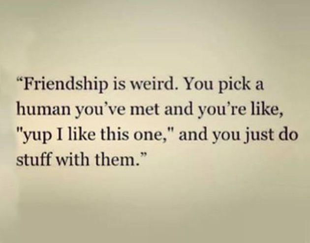 Friendship is weird // {poops & giggles}