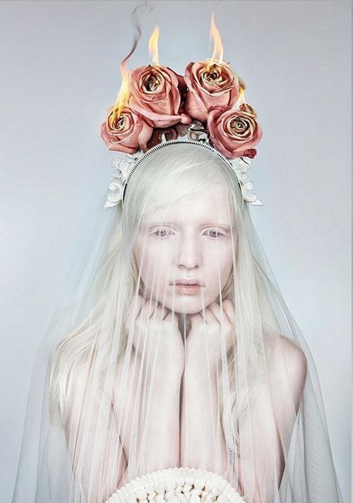 "Nastya Zhidkova by Danil Golovkin in ""Wild Flower"" for Fashion Gone Rogue"