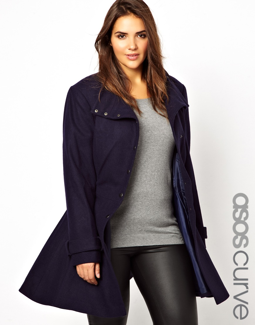 e0a40e0cb32 Wear to Shop    Review - ASOS Curve Fit  Flare Coat