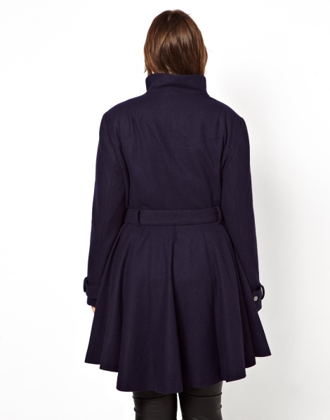 ASOS curve fit and flare in Navy