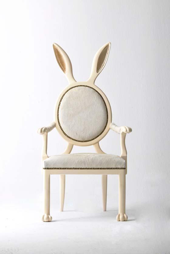 Rabbit Chair by Merve Kahraman