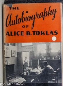 Stein - the autobiography of Alice B tolkas