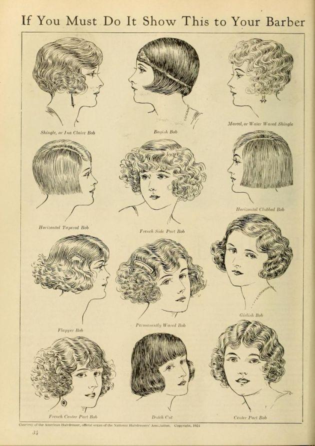 1920's bobs