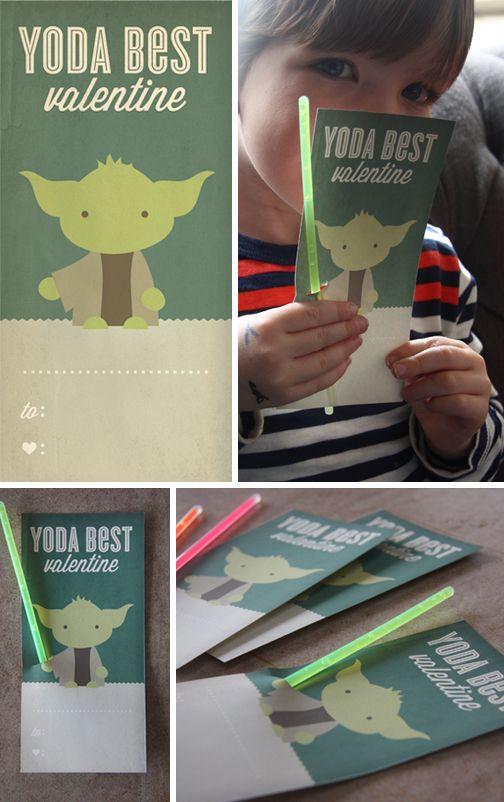 Yoda best valentines day cards // Friday I'm in Love // margotmeanie.com
