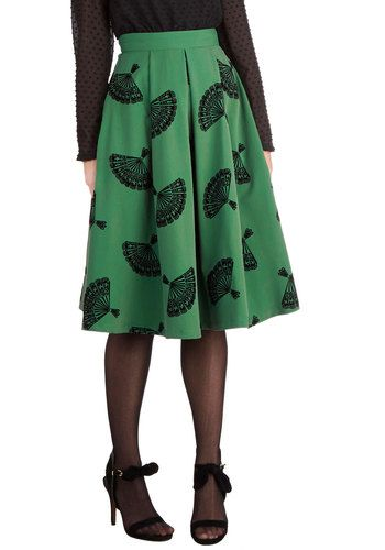 B. Jones Style Skirt by Bettie Page Clothing Mod Cloth