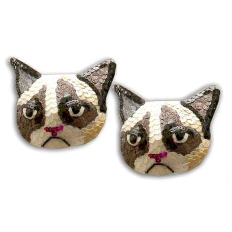 Grumpy Cat Burlesque Pasties Nipple Tassels by burlesque101