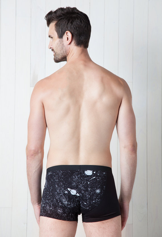 Make It Godd pdx - Glow in the dark solar system mens