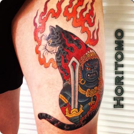 Horitomo - Monmon fudo cat