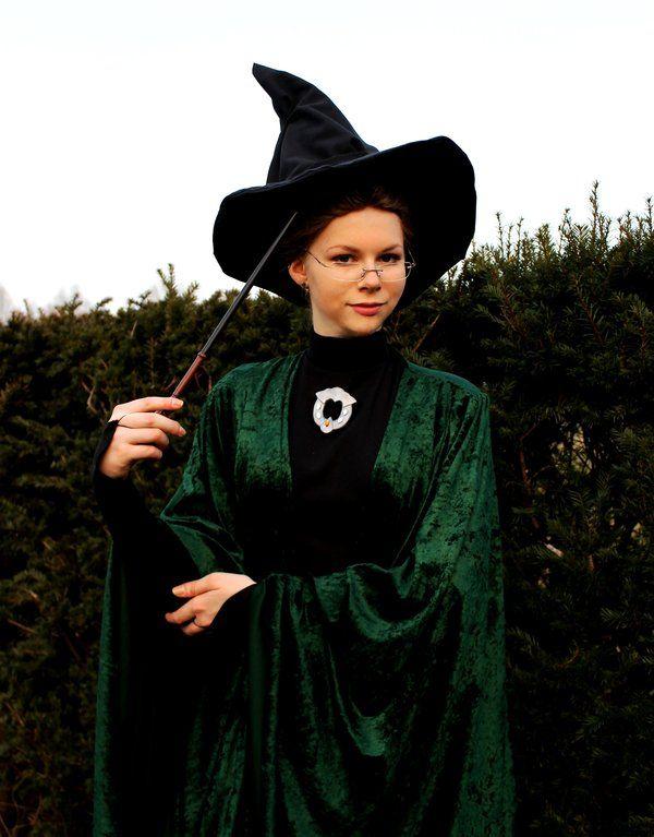 Minerva McGonagall, Harry Potter, by Chibi-Seth // Friday I'm in Love // margomeanie.com