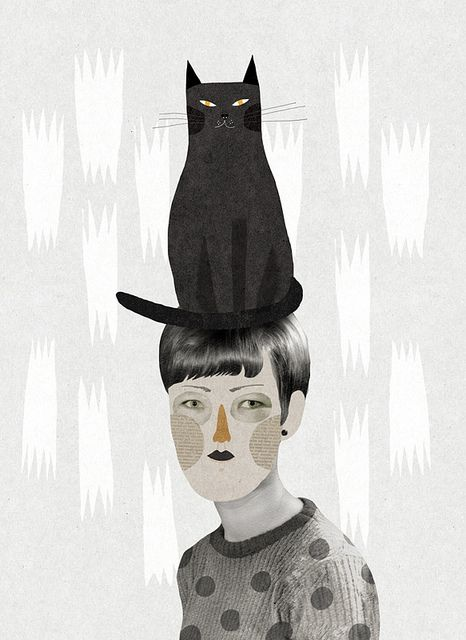 Un gat en el cap by Mathilde Aubier