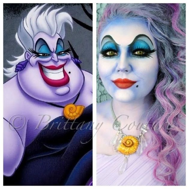 Ursula make up inspo