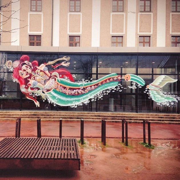 // Dissection of Little Mermaid by Nychos // margotmeanie.com