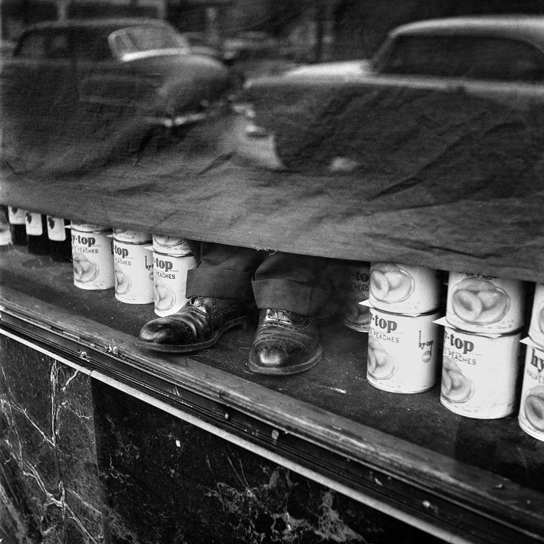 Vivian Maier, January 1956