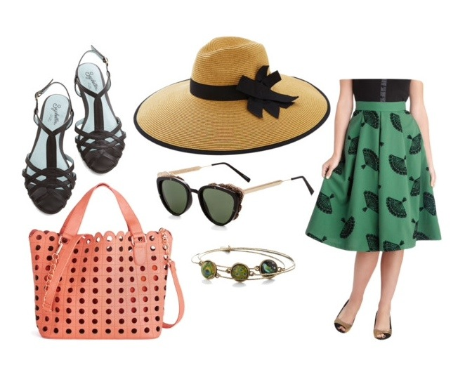 // modcloth - brunch // by margot meanie