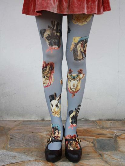 circus animals tights