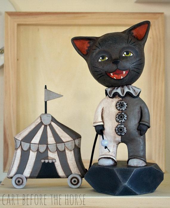 circus black cat