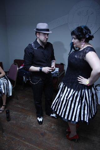 the meanies // alternative circus wedding // margotmeanie.com