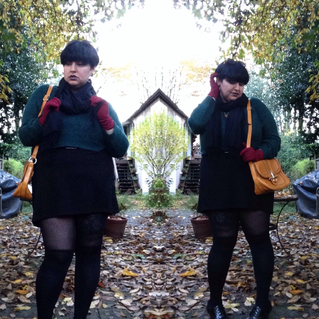 sweater weather // alternative plus size fashion // margot meanie