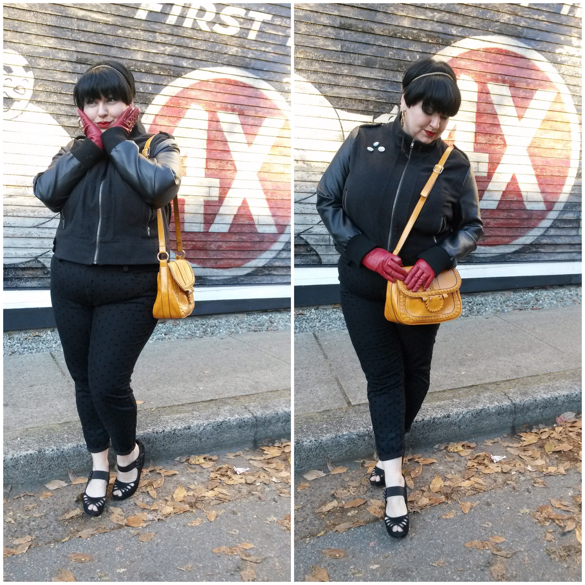 leader of the pack // canadian plus size fashionn blogger Margot Meanie