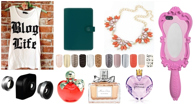 holiday wishlist : for blogger babes  // margotmeanie.com