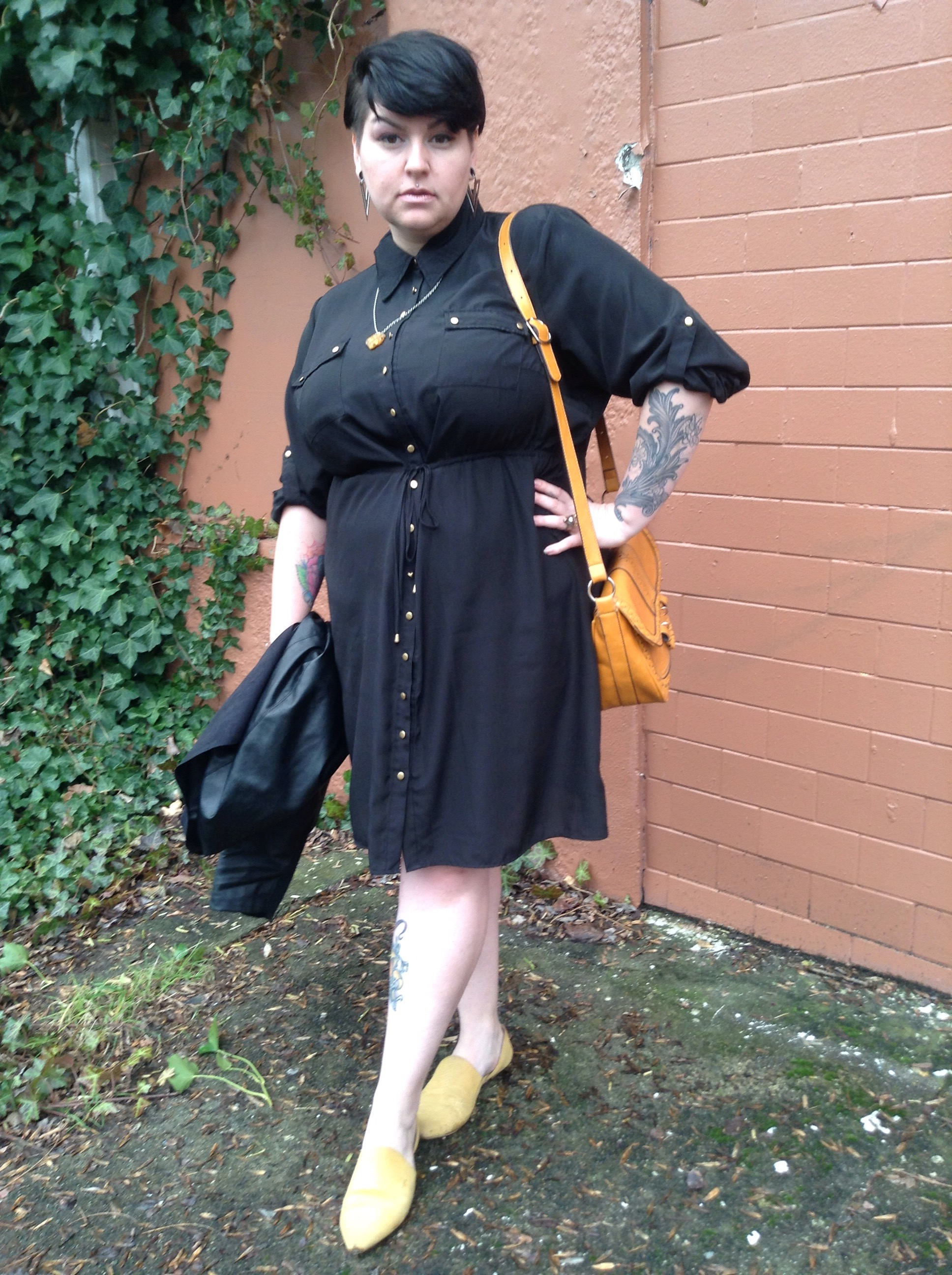 shirt dress // margot meanie