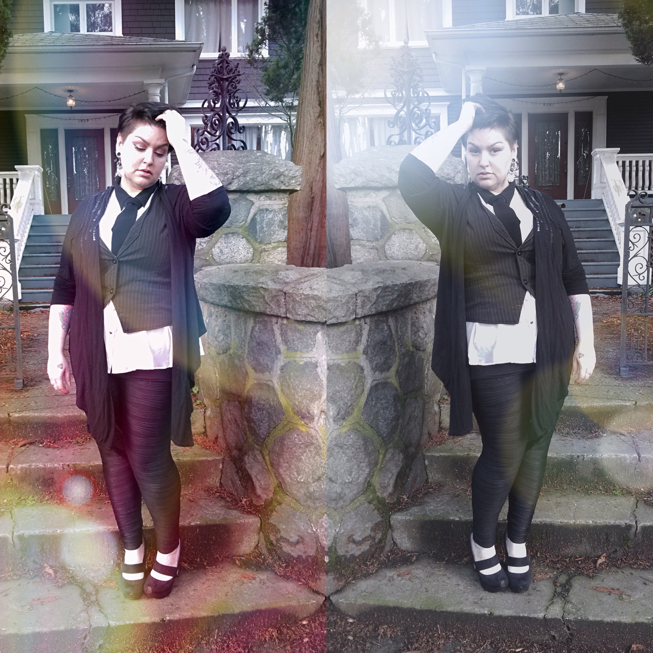 monochrome & lens flare // margot meanie