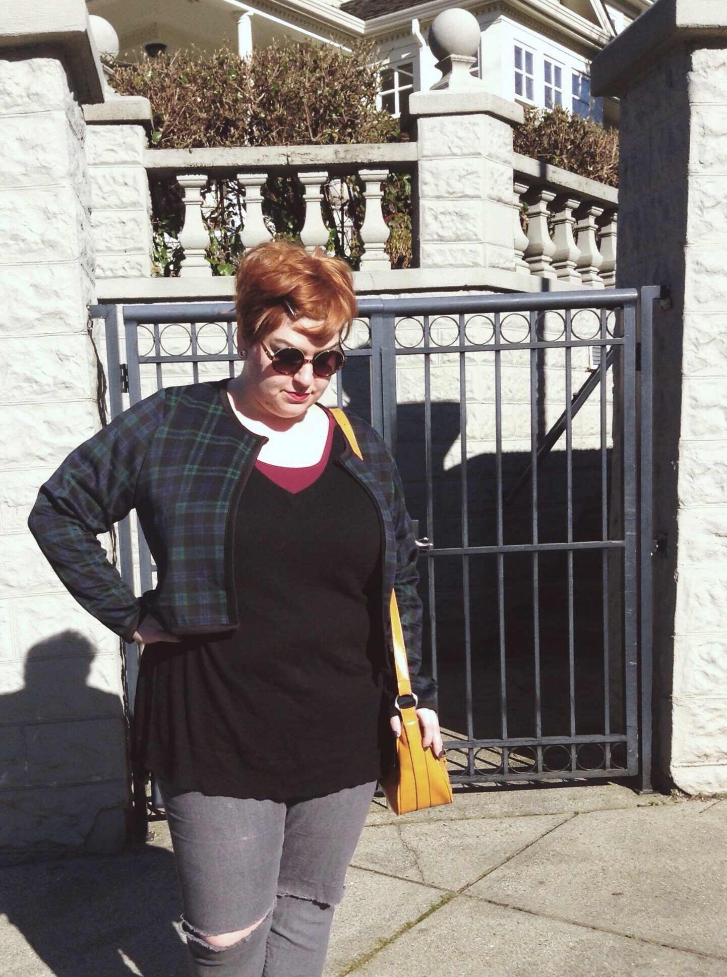 Canadian alternative plus size blogger, MArgot Meanie in Missguided, Addition Elle & f21+
