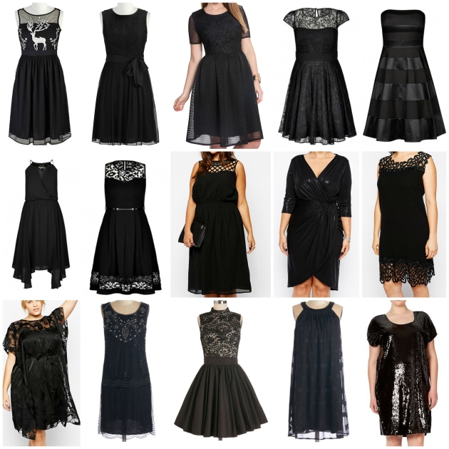 little black dresses in plus sizes // margotmeanie.com