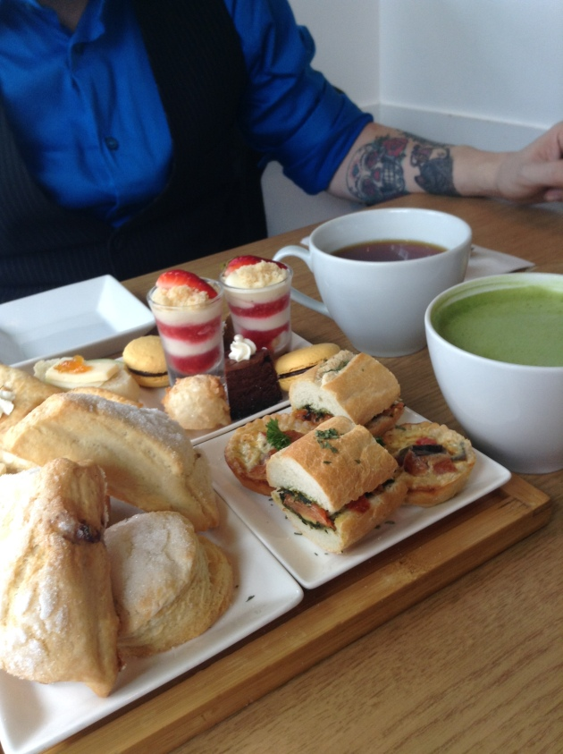 afternoon tea at Capstone Tea & Fondue