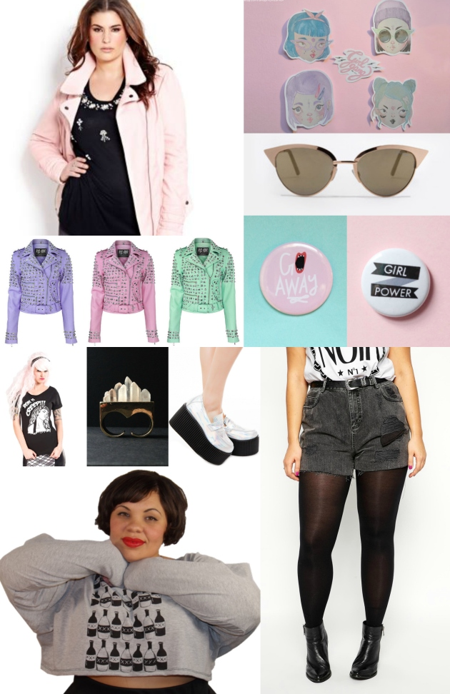 too pure to be pink // a girl gang shopping guide by margot meanie