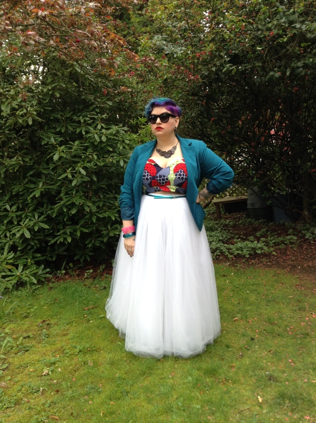 Cool Gal x Zelie for She | margot meanie - alternative plus size style