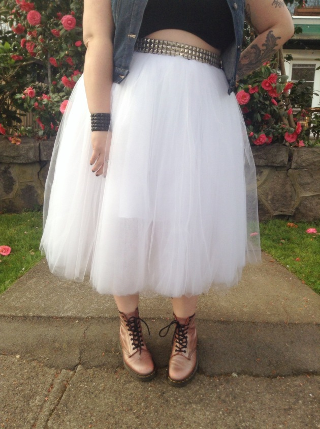 glam x grunge - how to rock a tutu | margot meanie