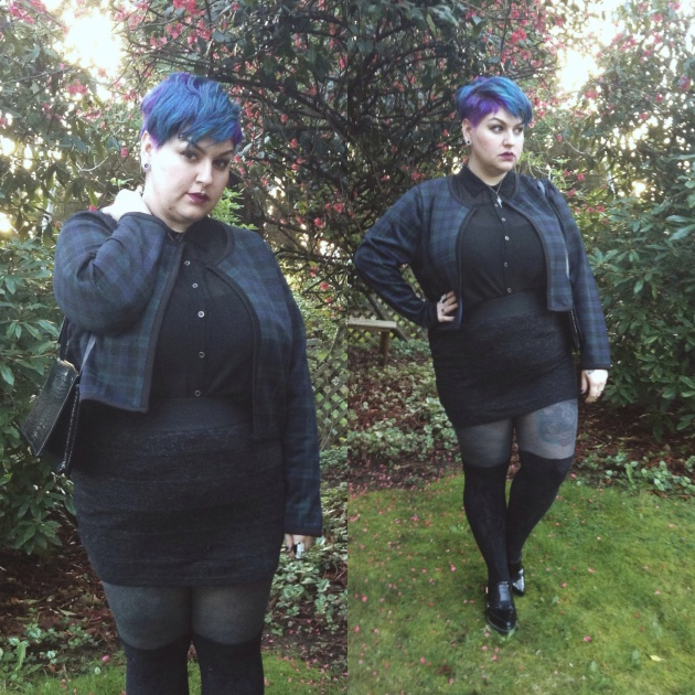 margot meanie | rebellious plus size fashion