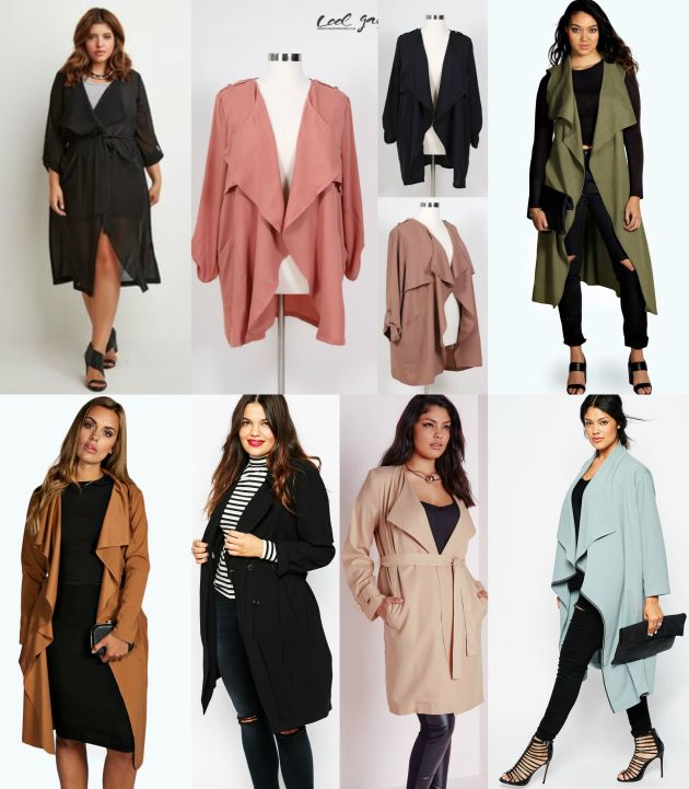 plus size shopping guide | trench coats