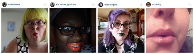 Day 4 - daring lipstick